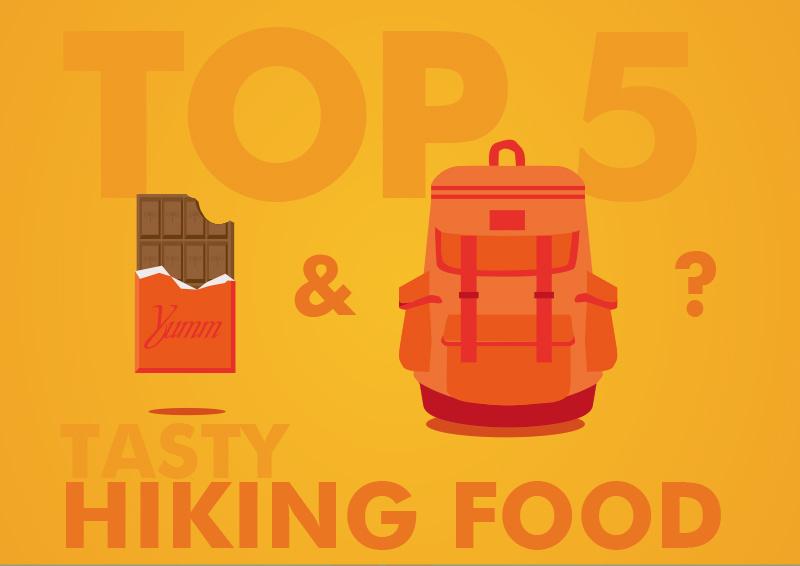 tasty hiking snacks, the top 5
