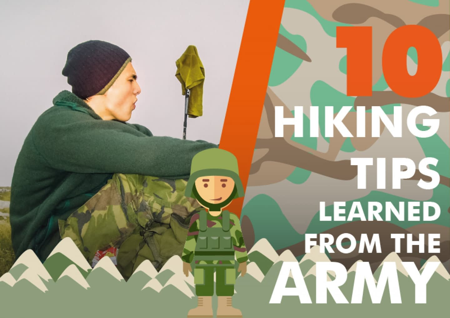 10 hiking tips learned from the army