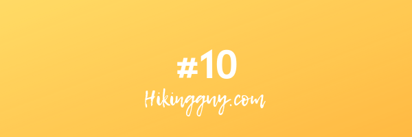 number 10 hikingguy.com