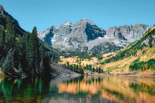 Maroon peak trail, colorado. One of our recommended hiking trails, hiking vs trekking vs mountaineering