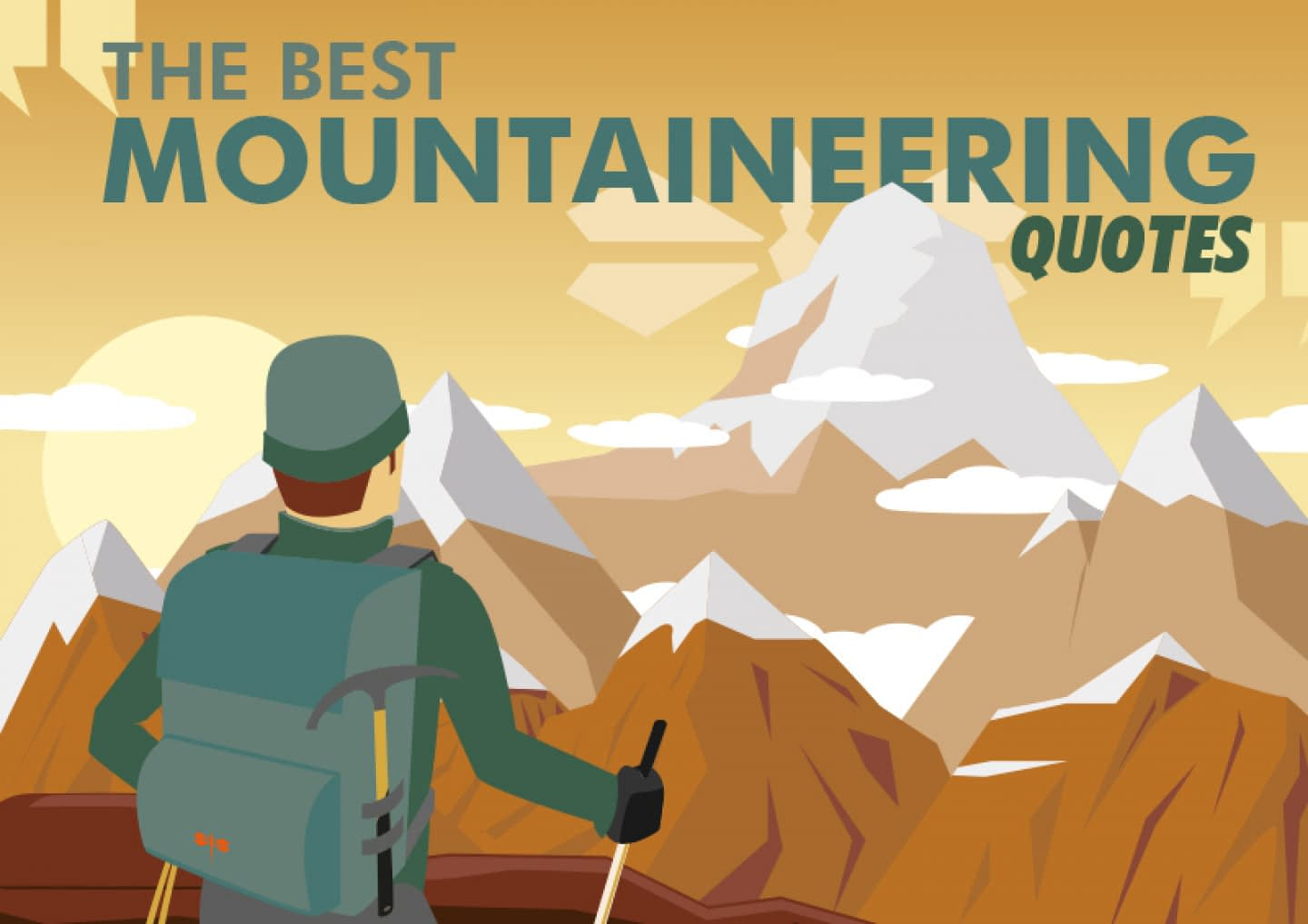 mountaineering quotes featured picture